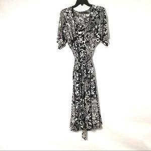 Nina Leonard Women's Shift Dress Plus 3x Floral